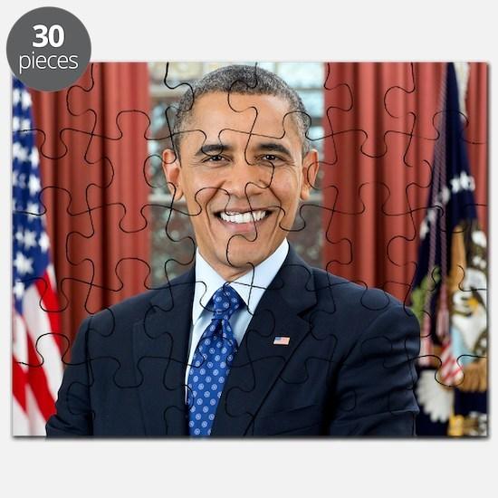 Barack Obama President of the United States Puzzle