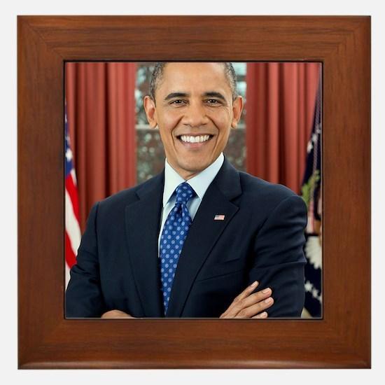 Barack Obama President of the United States Framed