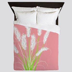 Ornamental Grasses Pink Queen Duvet