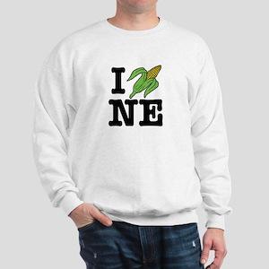 I Love Nebraska (corn) Sweatshirt
