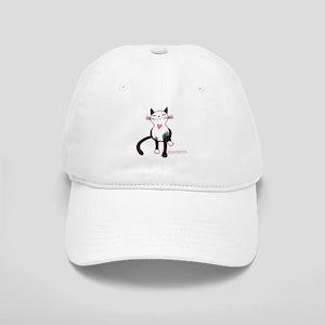 Tripawd Cat Love Baseball Cap