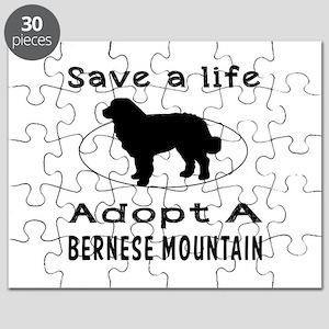 Adopt A Bernese Mountain Dog Puzzle
