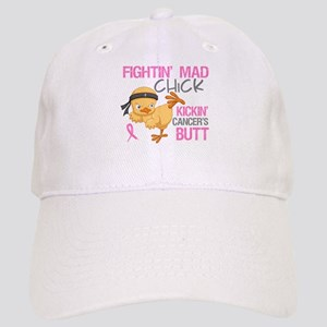 Fightin' Mad Chick Breast Cancer Cap