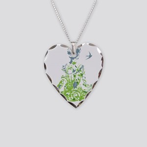 Inner Peace Necklace Heart Charm