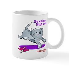 Be Calm Hop On Mugs