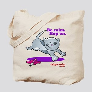 Be Calm Hop On Tote Bag