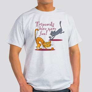Tripawd Cats Have Fun T-Shirt