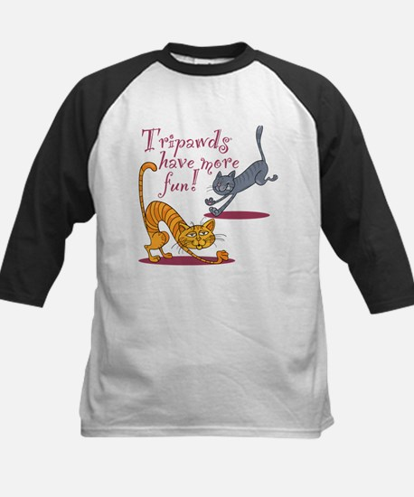Tripawd Cats Have Fun Baseball Jersey