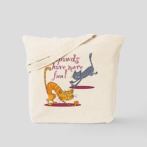 Tripawd Cats Have Fun Tote Bag