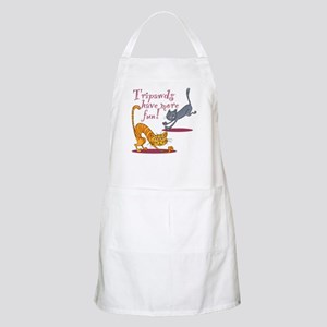 Tripawd Cats Have Fun Apron
