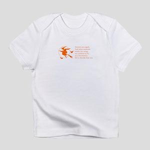 women-broomstick-orange Infant T-Shirt