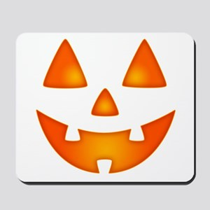 Happy Pumpkin Face Mousepad