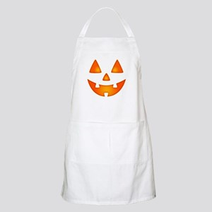 Happy Pumpkin Face Apron