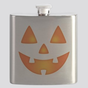 Happy Pumpkin Face Flask