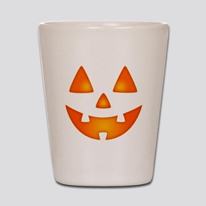 Happy Pumpkin Face Shot Glass