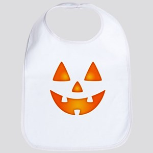 Happy Pumpkin Face Bib