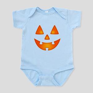 Happy Pumpkin Face Body Suit