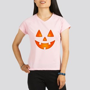 Happy Pumpkin Face Performance Dry T-Shirt