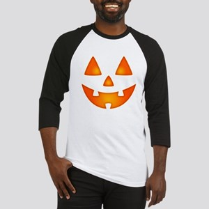 Happy Pumpkin Face Baseball Jersey