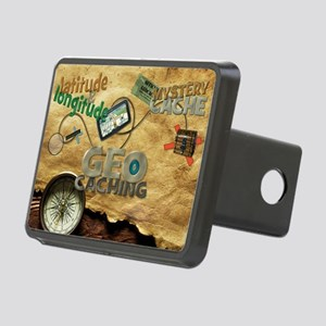 Geocache Fever Rectangular Hitch Cover