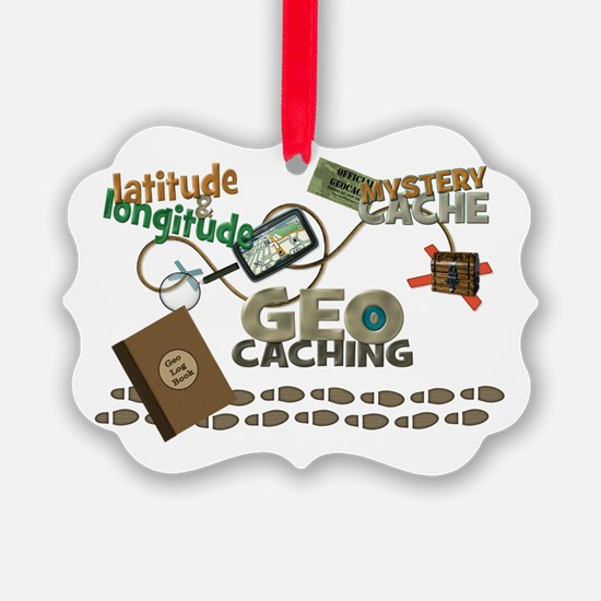Geocache Fever Ornament