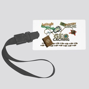 Geocache Fever Large Luggage Tag