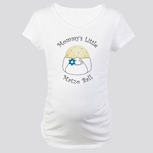 Jewish baby gifts cafepress mommys little matzo ball maternity t shirt negle Images