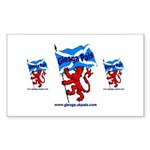 Glesga Pals Rectangle Sticker