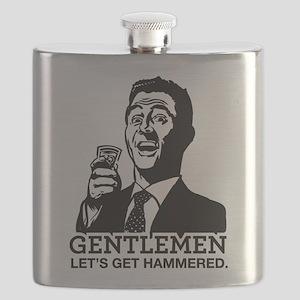 Let's Get Hammered Flask