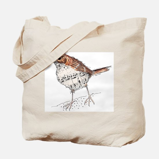 Unique Thrush Tote Bag