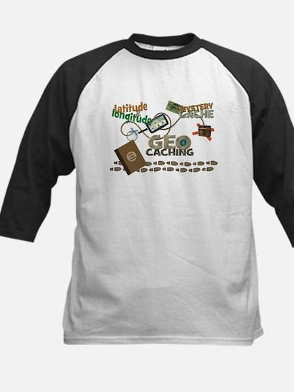 Geocache Fever Kids Baseball Jersey