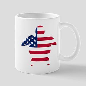 American Flag Sea Turtle Mugs