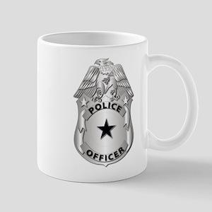Gov - Police Officer Badge Mug
