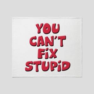 Fix Stupid Throw Blanket