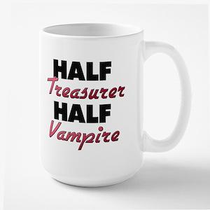 Half Treasurer Half Vampire Mugs