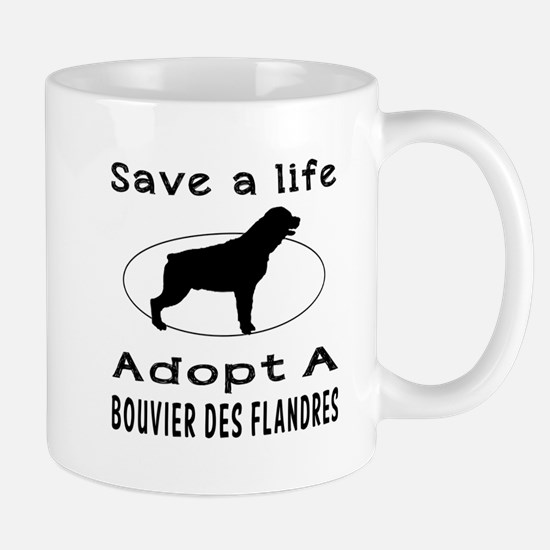 Adopt A Bouvier Des Flandres Dog Mug