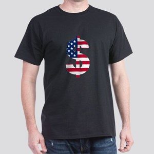American Flag Money T-Shirt