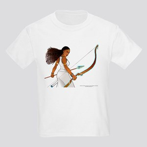 Nuhamin with Bow Arrow --Kid's T-Shirt