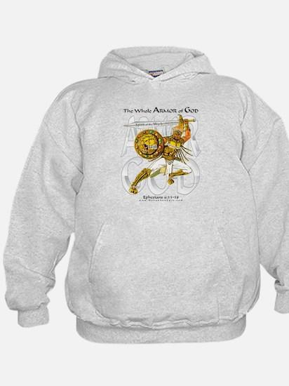 Armor of God -Silver-- Kid's Hoodie