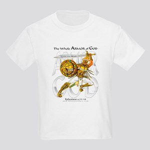 Armor of God -Silver --Kid's T-Shirt
