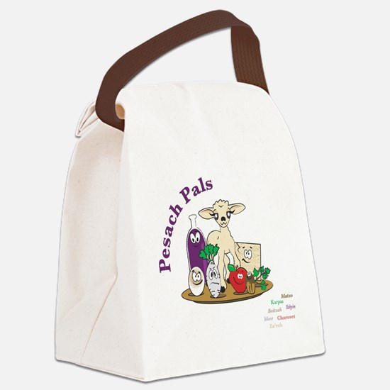 Pesach Pals Canvas Lunch Bag