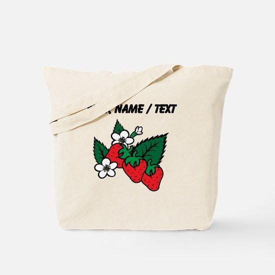 Custom Strawberries Tote Bag