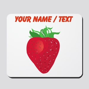 Custom Strawberry Mousepad