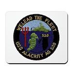 USS ALACRITY Mousepad