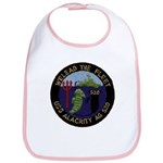 USS ALACRITY Cotton Baby Bib