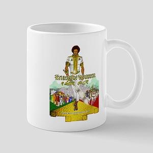 Ethiopian Warrior 18x24 (green semien) Mugs