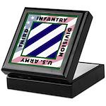 3ID US Army Version 2 Keepsake Box