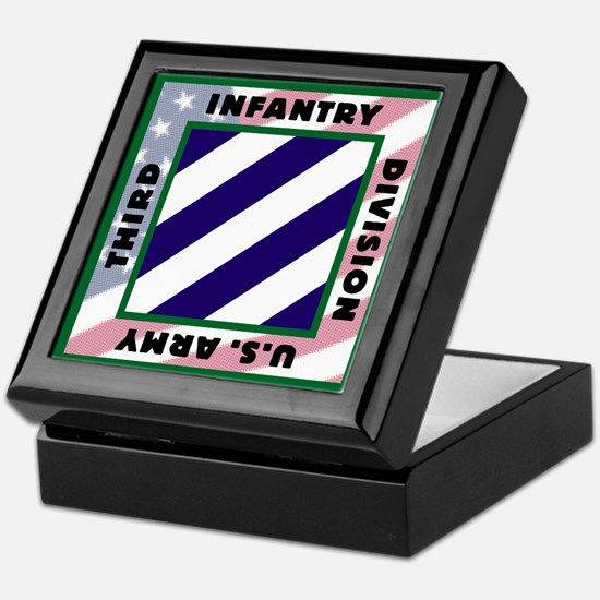 3ID US Army Version 2 Keepsake Box