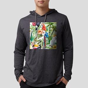 Watercolor Parrots Long Sleeve T-Shirt