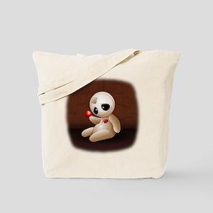 Voodoo Doll Cartoon in Love Tote Bag